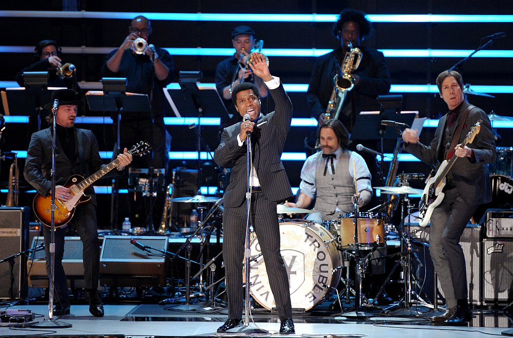 . Musical group Vintage Trouble performs at the ESPY Awards on Wednesday, July 17, 2013, at Nokia Theater in Los Angeles. (Photo by John Shearer/Invision/AP)