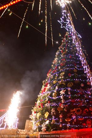 2013 East Jerusalem Tree Lighting