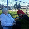 At Lynden campout with Norma, Ernie, Ruth and Inez.