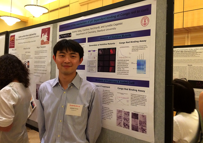 Jeremy at the Undergraduate Research Symposium<br /> October 23, 2014