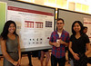 Sarah with Joe and Wiriya at the Undergraduate Research Symposium<br /> October 23, 2014
