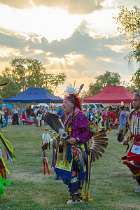 Pow Wow Grand Entry