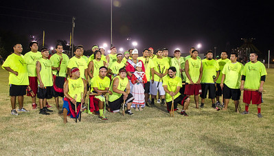 Okla Hannali, 3rd Place, Labor Day Festival Stickball Tournament.