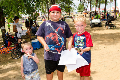 Terrapin race winners for ages 3-7 are 1st place Snoweagle Rasha, 2nd place James Wortham, and 3rd place Jackson Pollard.