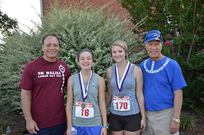 Ages 13-15: 1st - Barbara Johnson of Howe and 3rd - Brittany Gilbert of Tishomingo.