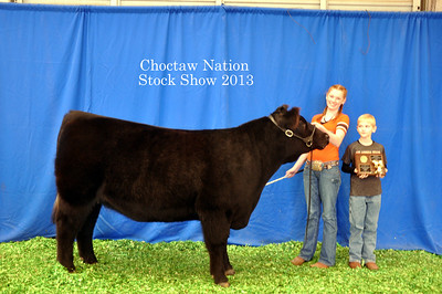 Hannah Palmer of McCurtain County 4-H wins Continental Reserve Grand Champion