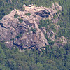 This area is near the  famous Old Man of the Mountain rock formation which unfortunately collapsed in 2003.  If you look to the left of this rock there appears to be a face .