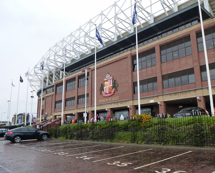 Stadium of Light, Sunderland on 12th May 2013