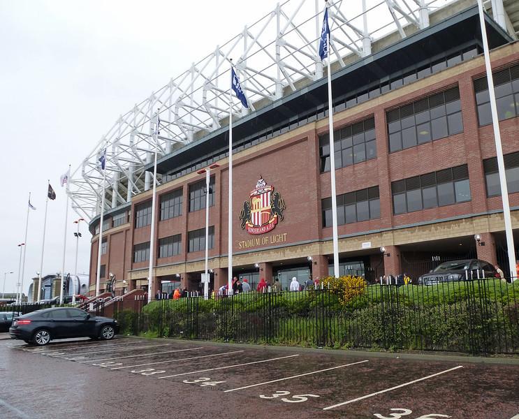 Stadium of Light, Sunderland on 12th May 2013