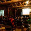 Lynn Webb, CalFire Education specialist, educating us on trail and forest sustainability!