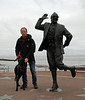 Eric morecambe statue  - 16th November 2013