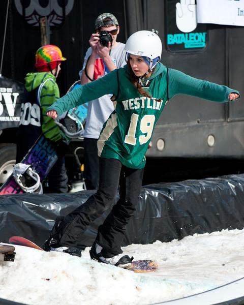 2013 OCHS Snowboard Rail Jam