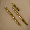 Solid Gold Parker T-1's!!!  No Kidding!