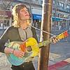 Street Musician 1, Telegraph Avenue