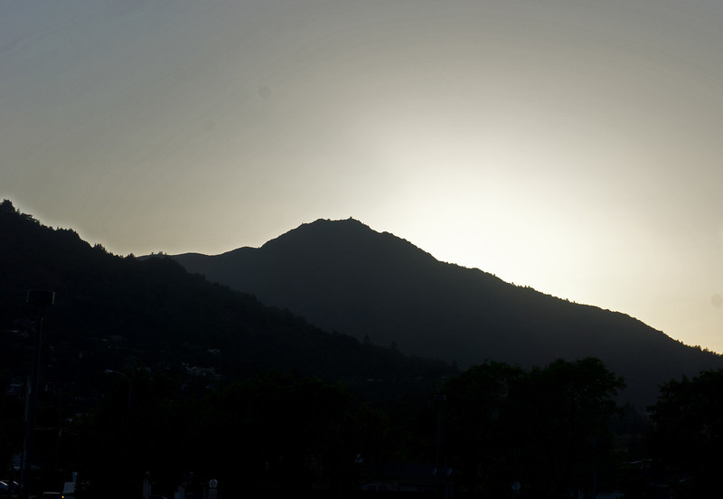 Mount Tamalpais sunset