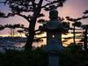 Kuno Garden at sunrise in Garry Point Park.