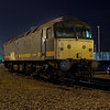 47811 another one that Freightliner used after the passenger TOC's finished with her is seen on the Fuel and Inspection point at Basford Hall as the frost slowly starts to creep around the loco