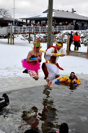 2013 Polar Plunge Fundraiser for Mich. Special Olympics - St. Clair, MI