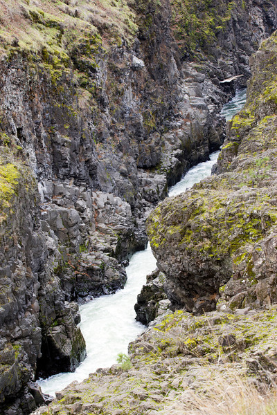 Klickitat River Gorge Above Bridge