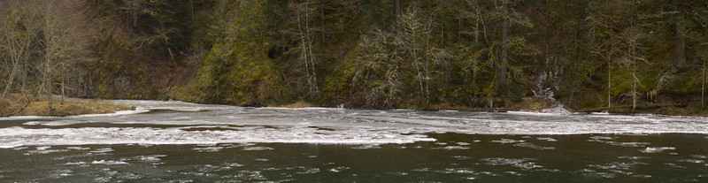 Chilly Clackamas River