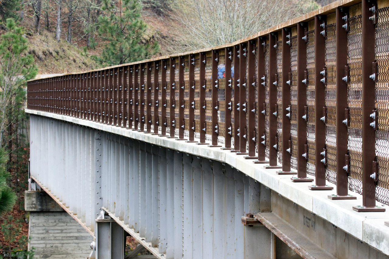 Walking Bridge Over Klickitat River