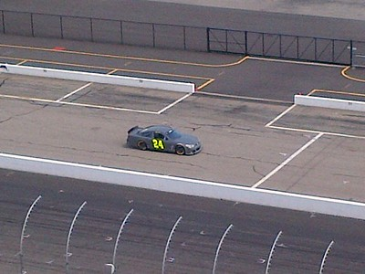 Cup series tire test @ NHMS 5-14-2013