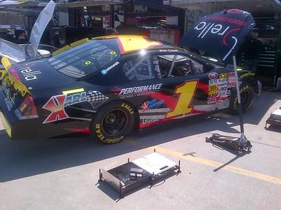 NASCAR K&N race @ Greenville SC 4-6-2013 Make up race