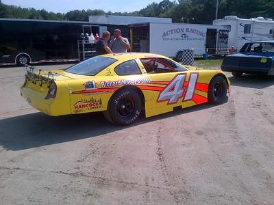 Saturday race @ Beech Ridge 6-29-2013