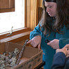Laura Seale shows off her fungus collection.