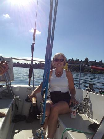2013 Sally's Birthday Sailing