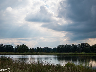 8/18.  Evening Skies at Peak Preserve.