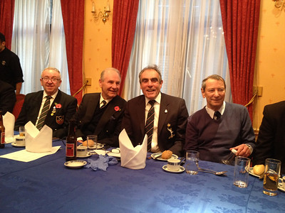 23 Four signallers Bob Todd, Sid Falla, Hugh Nicklin and Ron Wildman