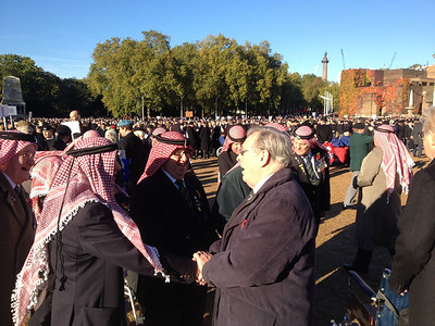 1 Gathering at Horseguards