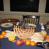 Cornucopia with menorah