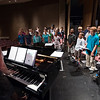 Submitted Photo: Lisa Bianconi with the Kurn Hattin Homes for Children Choir.