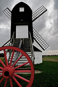 Pitstone Windmill, the oldest surviving windmill in England, October 18.