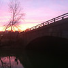 2/11/2013: Sunset next to the US1 bridge.