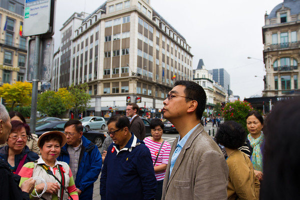 Our tour leader is the smug looking asian  with the glasses in the middle. He's actually pretty cool.