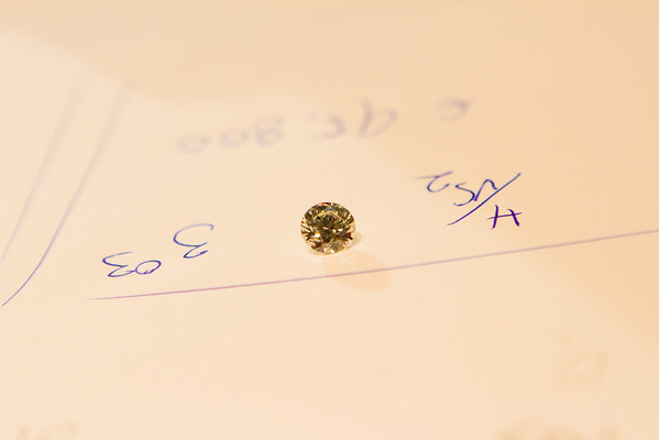 Despite being of OK clarity/color, the fact that it is 3 carats = 95K Euros.