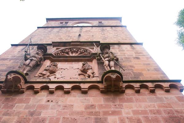 Heiderberg Castle.