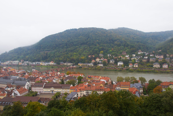 View from Heiderberg Castle