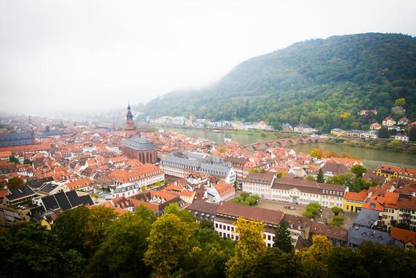 View from Heiderberg Castle