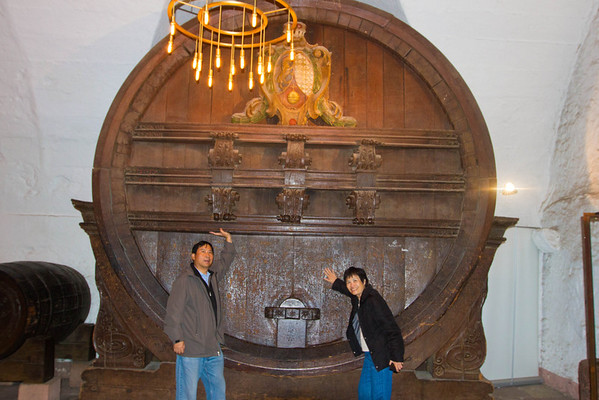 One of the largest wine barrels in the country. (6K gallons?)