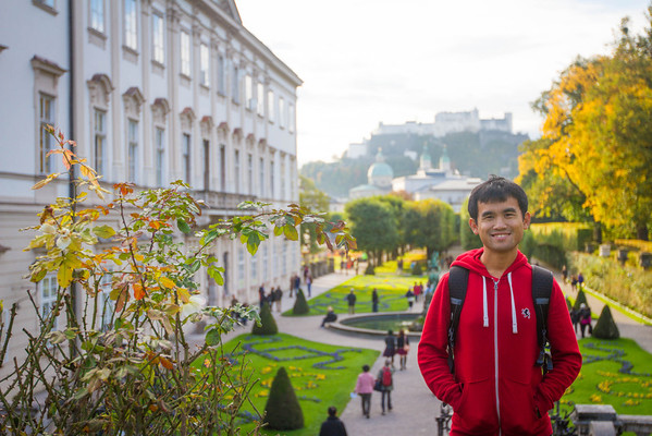 Salzburg Mirabell Gardens (where The Sound of Music was filmed)