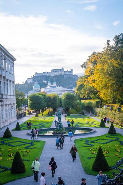 Salzburg City Tour - Mirabell Gardens