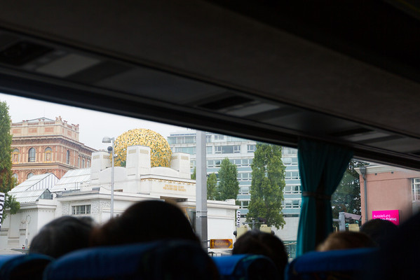 A bigass golden globe.