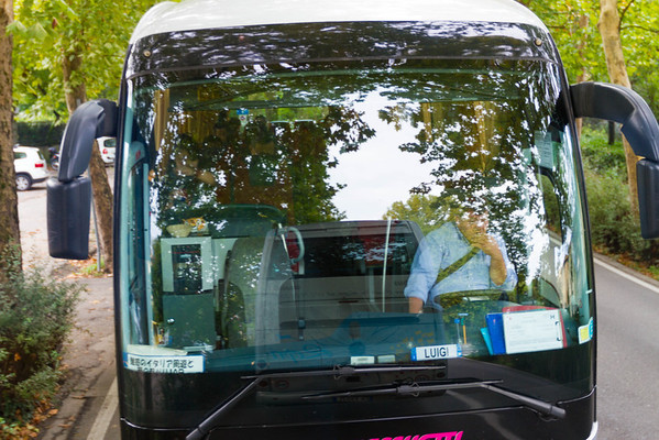Italy. Japanese tour. Driver's name is Luigi. *chuckle*