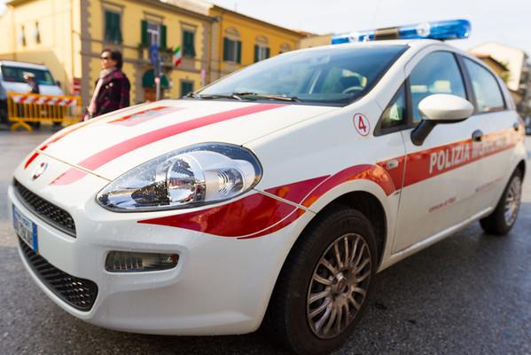 Polizia in Pisa