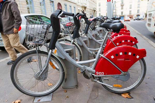 Rental bikes in Lyon