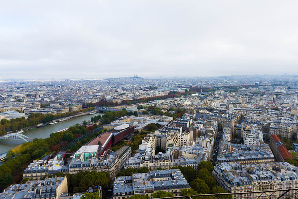 9/20/2013: Eiffel Tower  - The view from level 1.